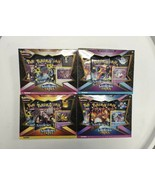 Pokemon Shining Fates Mad Party Pin Box COMPLETE 4 SET IN HAND SHIPS IMMEDIATELY - $135.95