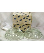 Princess House 2004 Highlights #845 Set Of 2 Candleholders In Box - $10.70