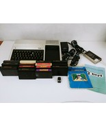 Vintage Texas Instruments TI-99/4A  Computer With 13 Games & Cords. Tested - $112.19