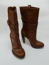 Michael Kors Boots Shoes Brown Mid-Calf Platform Brazil Womens Size 8 M - $148.45