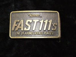 Kenner Fast 111s Belt Buckle - $26.99