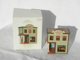 2008 Hallmark Nostalgic Houses & Shops Don's Nursery Christmas Ornament 25th Ann - $9.99