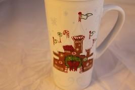 New Starbucks Disney Parks Gingerbread Castle Holiday Ceramic Mug Tumbler Travel - $30.84
