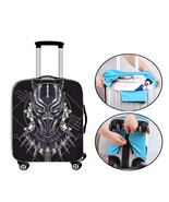 Black Panther Suitcase Cover Backpack Luggage Protector Trolley Case Marvel - $29.95