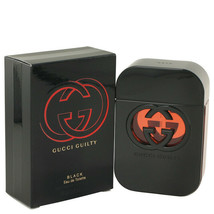 Gucci Guilty Black by Gucci 2.5 oz EDT Spray Perfume for Women New in Box - $68.11