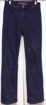 NOT YOUR DAUGHTER'S STRETCH JEANS SIZE 6, BLUE PANTS RN# 63623 STYLE 700... - $39.95