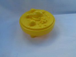 Fisher Price Little People Yellow Castle Round Food Table - $1.73