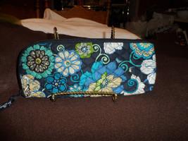 Vera Bradley slipper, lingerie or travel bag in Mod Floral blue - $12.00