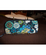 Vera Bradley slipper, lingerie or travel bag in Mod Floral blue - $12.00