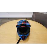 "FLY Racing Kinetic Motocross Helmet - Blue/Orange - Used - Size ""YS"" - $59.99"
