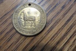 Original,Alpacuna The Luxury Coat,Advertising Alpaca Souvenir Coin Medalian - $14.20