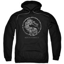 Mortal Kombat X - Stone Seal Adult Pull Over Hoodie Officially Licensed ... - $34.99+