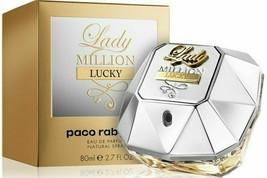 Lady Million Lucky for Women by Paco Rabanne Eau De Parfum Spray 2.7 Oz - $59.99