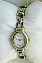 Vintage Timex Carriage Quartz Wristwatch CR 1216 Stainless Steel Ladies ... - $13.06