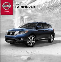 2013 Nissan PATHFINDER brochure catalog US 13 SV SL Platinum - $7.00