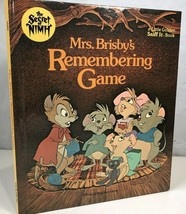 Secret of Nimh Scratch Sniff It Mrs Brisbys Remembering Game Smelly Gold... - $24.74