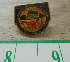 1991 Phoenix Raceway Skoal Bandit Copper world classic Racing Lapel Hat ... - $8.55