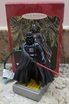 STAR WARS DARTH VADER Hallmark Keepsake Ornament Light and Voice 1997 Ch... - $16.71