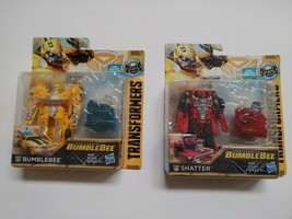 Transformers Bumblebee Energon Ignitors Bumblebee And Shatter Lot Of 2 New - $22.25