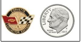 CORVETTE Lapel Pin - Collector Edition Hat,Cap Badge Emblem GM Chevy Lap... - $11.75