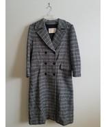 Vintage Pendleton Wool Coat Size 10 Womens Gray Trench Coat Full Length ... - $57.42