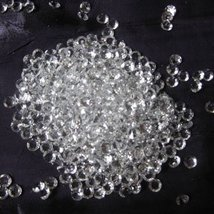 50,000 Diamond Confetti Clear - 1/2 carat (5mm) - $92.09