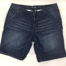 Apt 9 Women's Denim Bermuda Shorts Modern Fit Size 12 - $9.49