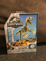 New Jurassic World Fallen Kingdom Velociraptor STEM Fossil Strikers Kit - $10.93