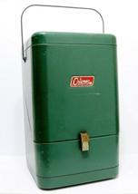 Vintage Coleman 220? or 228? Green Metal Lantern Case VGUC - $59.47
