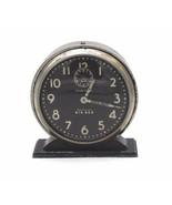 Vtg Westclox Big Ben Style 4 CHIME Alarm Black Luminous Clock 1934 - 1939 - $49.50