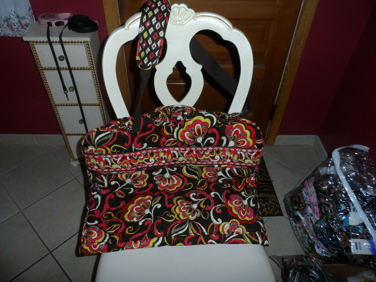 Primary image for Vera Bradley Puccini Garment bag EUC