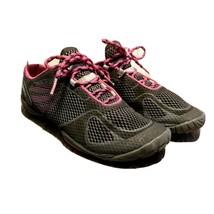 Merrell Womens Pace Glove 2 J48092 Sz 6.5 Black Pink Trail Running Shoes - $34.99