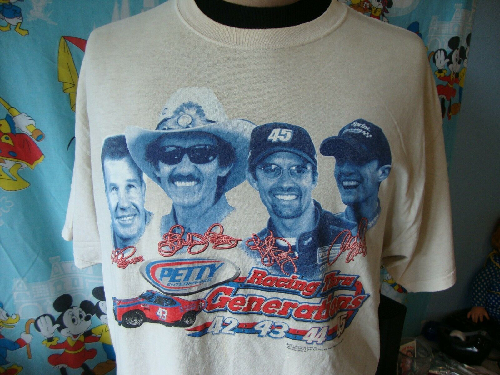 Primary image for Vintage Richard Petty Generations Nascar Racing T Shirt XL