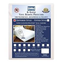 Bargoose | Zippered Mattress Cover | Vinyl Bed Protector | Waterproof Material |