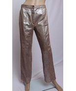 Randolph Duke The Look 100% Leather Distressed Space Look Silver Brown P... - $56.99