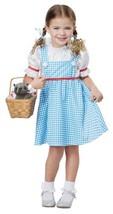 Dorothy of Oz Halloween Costume Toddler 4 - 6 - $37.99