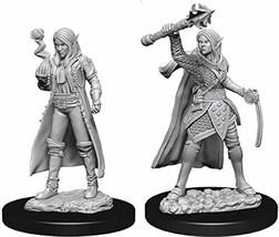 Nolzur's Marvelous Miniatures Wizkids - D&D Female Elf Cleric - WZK73835 - $6.69