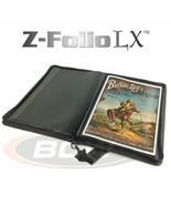BCW Z-Folio LX Black Leatherette Zippered 11x17 Art Print Portfolio Album - $49.06