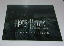 Harry Potter and the Goblet of Fire Collectible Lithograph  10in. X 8in. - $17.96