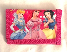 Disney Princess Design Children's Wallet— New More Fun characters Available Too!