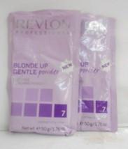 Revlon Blonde Up 7 Levels ~ Gentle Dust Free Powder Bleach ~ Lot Of 2 ~ 1.76!! - $7.28