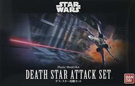 "Bandai Hobby Star Wars 1/144 Plastic ModelDeath Star Attack Set ""Star Wars"" - $49.90"
