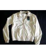 JACKET Ladies White IZOD GOLF Water-Wind Resistant Size S Polyester NWT ... - $24.74