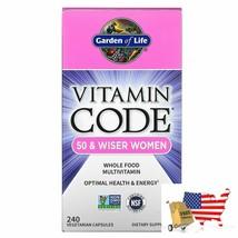 Garden of Life, Vitamin Code, 50 & Wiser Women, Whole Food Multivitamin, 240 Veg - $94.02