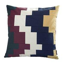 [Quicksand] Handmade Unique Grid Decorative Pillowcase 48CM - $21.16