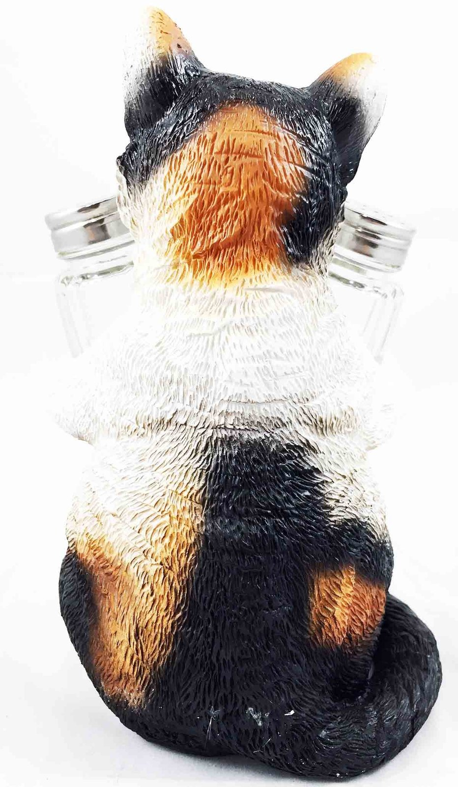 American Favorite Pet Playful Calico Cute Kitty Cat Figurine Salt Pepper Shakers