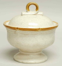 Mikasa Garden Club Sugar Bowl & Lid EC400 Japan Perfect Condition  - $15.88