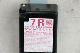 09-13 Toyota Corolla DCR Keyless Entry Door Control Receiver Module 89741-12370 image 2