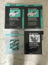 2000 Toyota Celica Servizio Negozio Riparazione Manuale Set OEM Fabbrica... - $198.55
