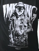 IM KING Mens Black Lobo Dressed Up Wolf in Disguise Graphic T-Shirt USA Made NWT image 2